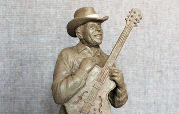 Floyd Tillman Sculpture